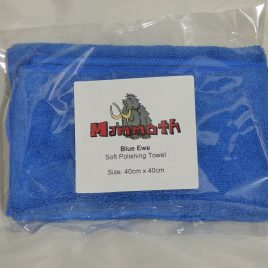 Mammoth Blue Ewe Ultra Soft cloth