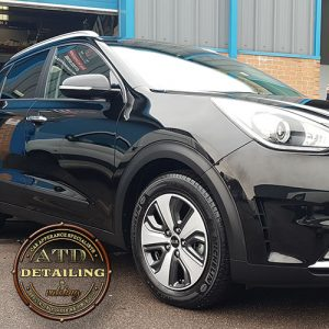 kia niro being collected