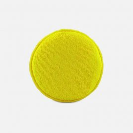 Yellow Microfibre applicator